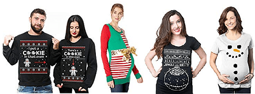 Pregnancy Christmas Sweater.7 Ugly Christmas Sweater Ideas For Pregnancy Ugly