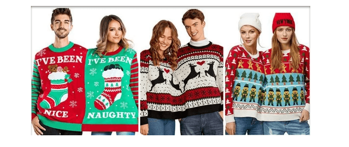 Christmas Sweaters For Couples.Best Couples Ugly Christmas Sweater Ideas Ugly Christmas